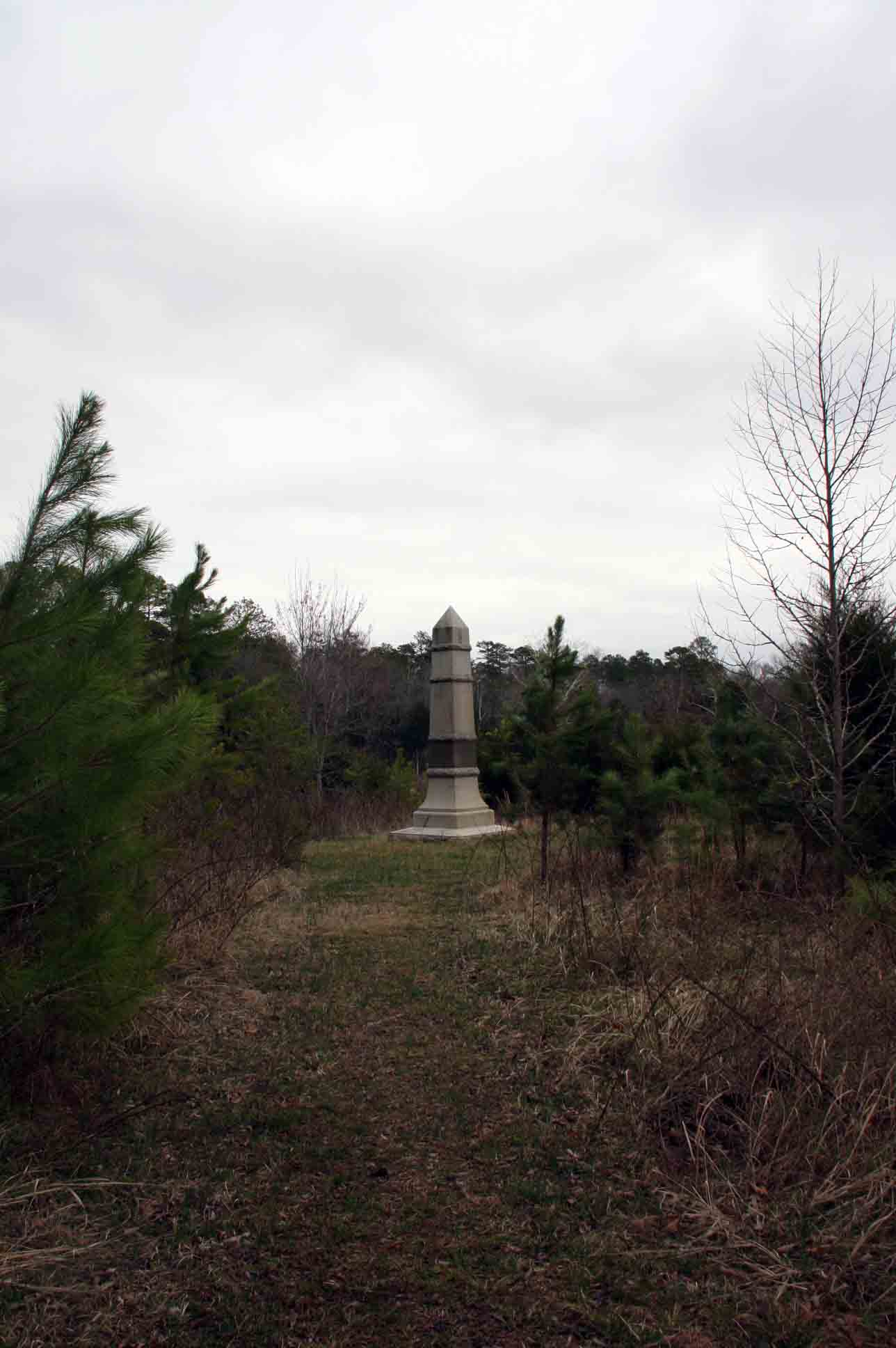 93rd Ohio Infantry Regiment Monument, click photo to enlarge.